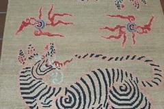 Tibetan Tigers 2.10 x 5.4