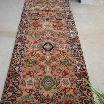 2.11x11.7 Tigris #271969 Made in Turkey of hand spun wools/veg. dyes