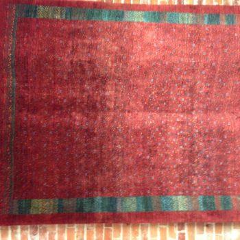 #100188139 Kashkuli 5.7 x 7.10 Made in Iran of hand spun wools/veg. dyes