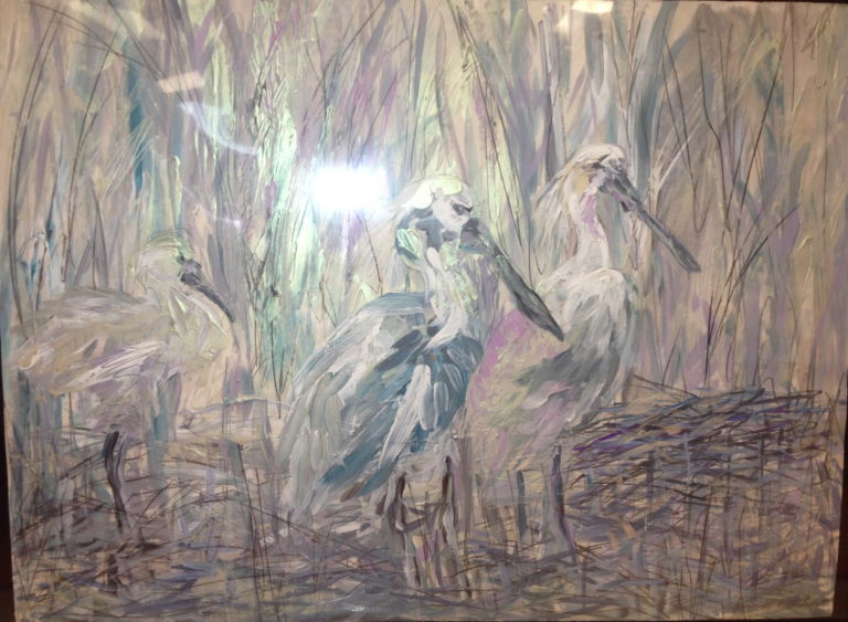 Egrets – Josephine Keir