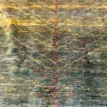 #10009869 Kashkuli 5.5x8 Made in SW Iran of hand spun wools/veg. dyes