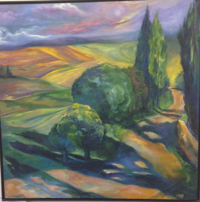 Tuscan Shadows – Josephine Keir